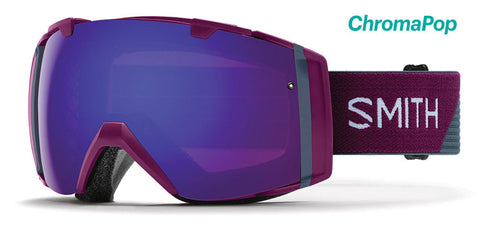 Smith - I/O Grape Split Snow Goggles / ChromaPop Everyday Violet Mirror Lenses