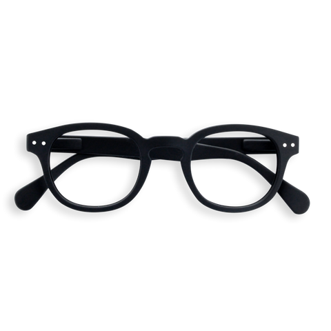 Izipizi - #C Black  Eyeglasses / Screen Blue Light Clear +2.00 Lenses