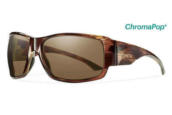 Smith Dockside Havana Sunglasses, ChromaPop+ Polarized Brown Lenses