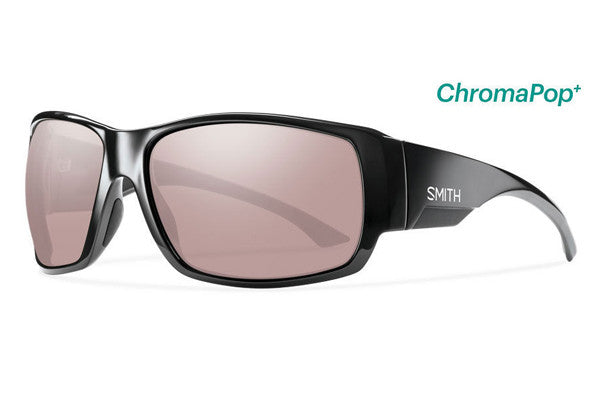 Smith Dockside Black Sunglasses, ChromaPop Polarchromic Ignitor Lenses