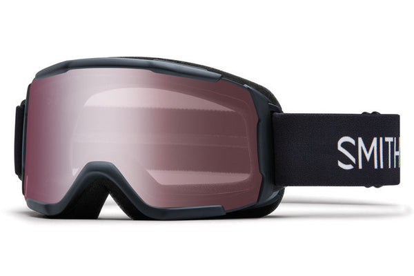 Smith - Daredevil Black Goggles, Ignitor Mirror Lenses