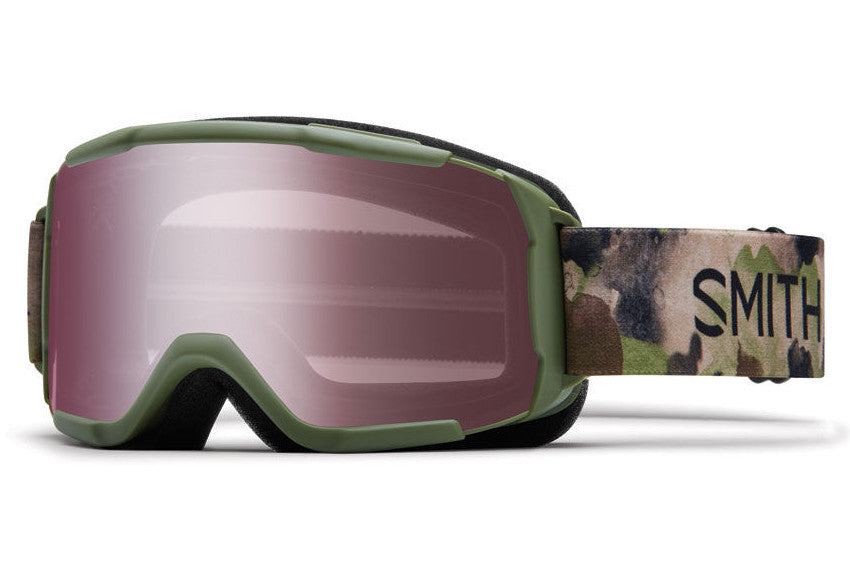Smith - Daredevil Olive Haze Goggles, Ignitor Mirror Lenses