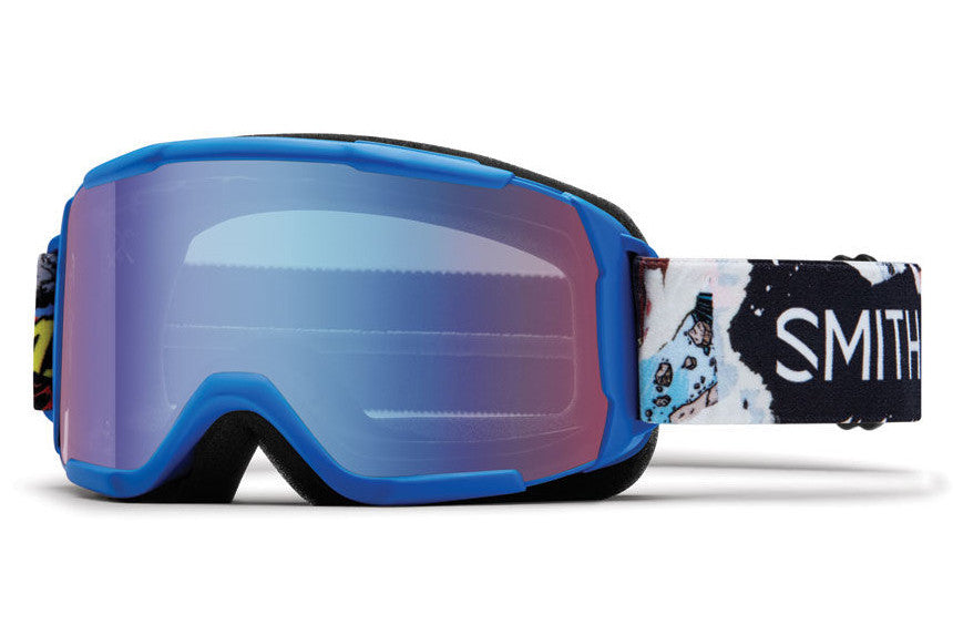 Smith - Daredevil Lipid Ripped Comic Goggles, Blue Sensor Mirror Lenses