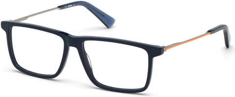 Diesel - DL5312 Shiny Blue Eyeglasses / Demo Lenses