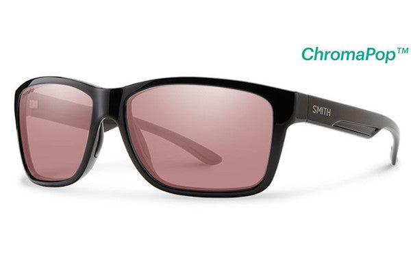 Smith Drake Black Sunglasses, ChromaPop+ Polarchromic Ignitor Lenses