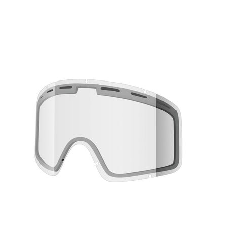 Shred Optics - Monocle Double Clear  Snow Goggle Replacement Lenses /  Lenses