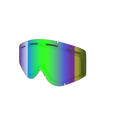 Shred Optics - Nastify Double CBL Plasma Mirror  Snow Goggle Replacement Lenses /  Lenses