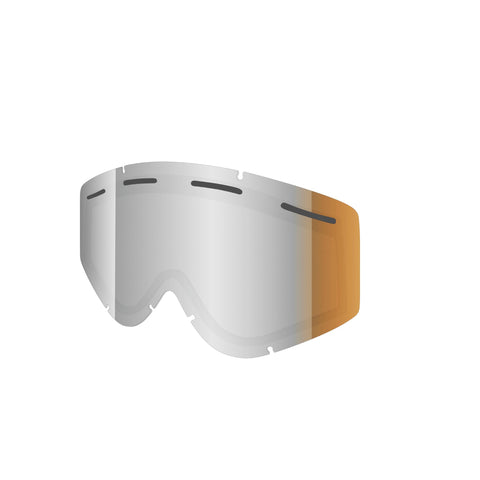 Shred Optics - Nastify Double Silver Mirror  Snow Goggle Replacement Lenses /  Lenses