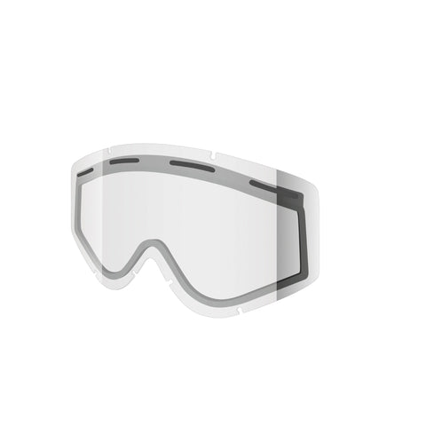 Shred Optics - Nastify Double Clear  Snow Goggle Replacement Lenses /  Lenses