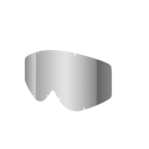 Shred Optics - Nastify Soaza Single Silver Mirror  Snow Goggle Replacement Lenses /  Lenses