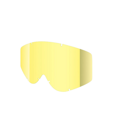 Shred Optics - Nastify Soaza Single Yellow  Snow Goggle Replacement Lenses /  Lenses