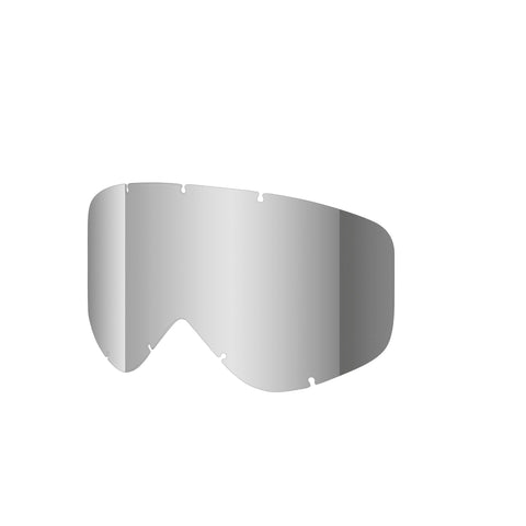 Shred Optics - Wonderfy Single Silver Mirror  Snow Goggle Replacement Lenses /  Lenses
