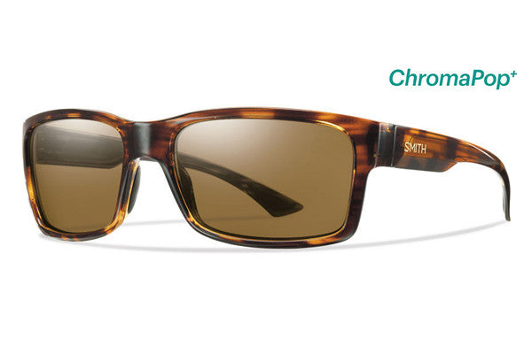 Smith Dolen Havana Sunglasses, ChromaPop+ Polarized Brown Lenses