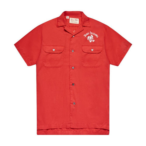Deus Ex Machina - Smile Back Shirt Red Molten Shirt