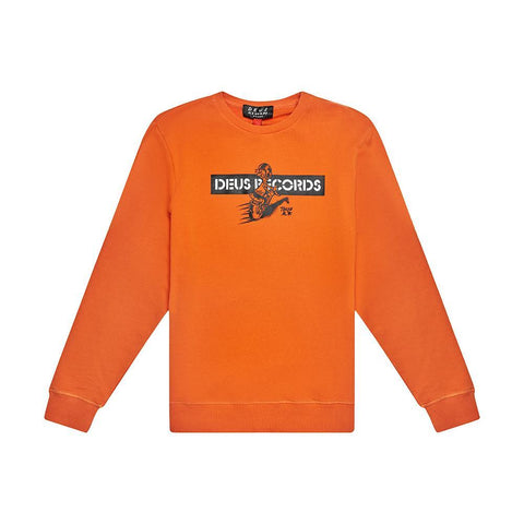 Deus Ex Machina - Street Skronk Crew Harvest Orange Sweatshirt