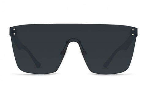 VonZipper - Alt Donmega Black Gloss Sunglasses / Grey Lenses