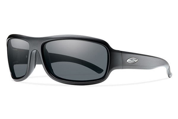 Smith - Drop Elite Matte Black Tactical Sunglasses, Gray Mil-Spec Lenses