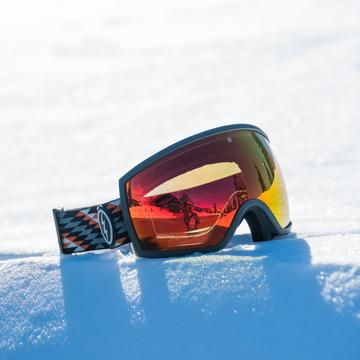 Electric - EGG Nuevo Rust Snow Goggles / Brose Red Chrome Lenses
