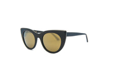 Kyme - Angel Black / Dark Gold Sunglasses