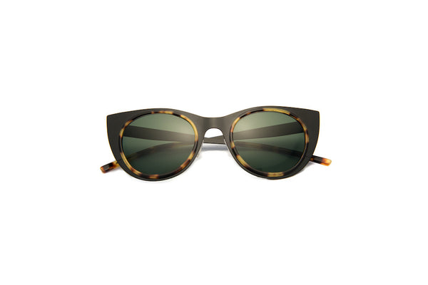 Kyme - Angel Light Satin Black Sunglasses
