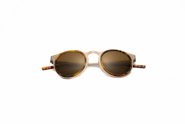 Kyme - Miki Light Silver Sunglasses