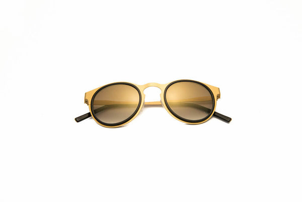 Kyme - Miki Light Gold Sunglasses