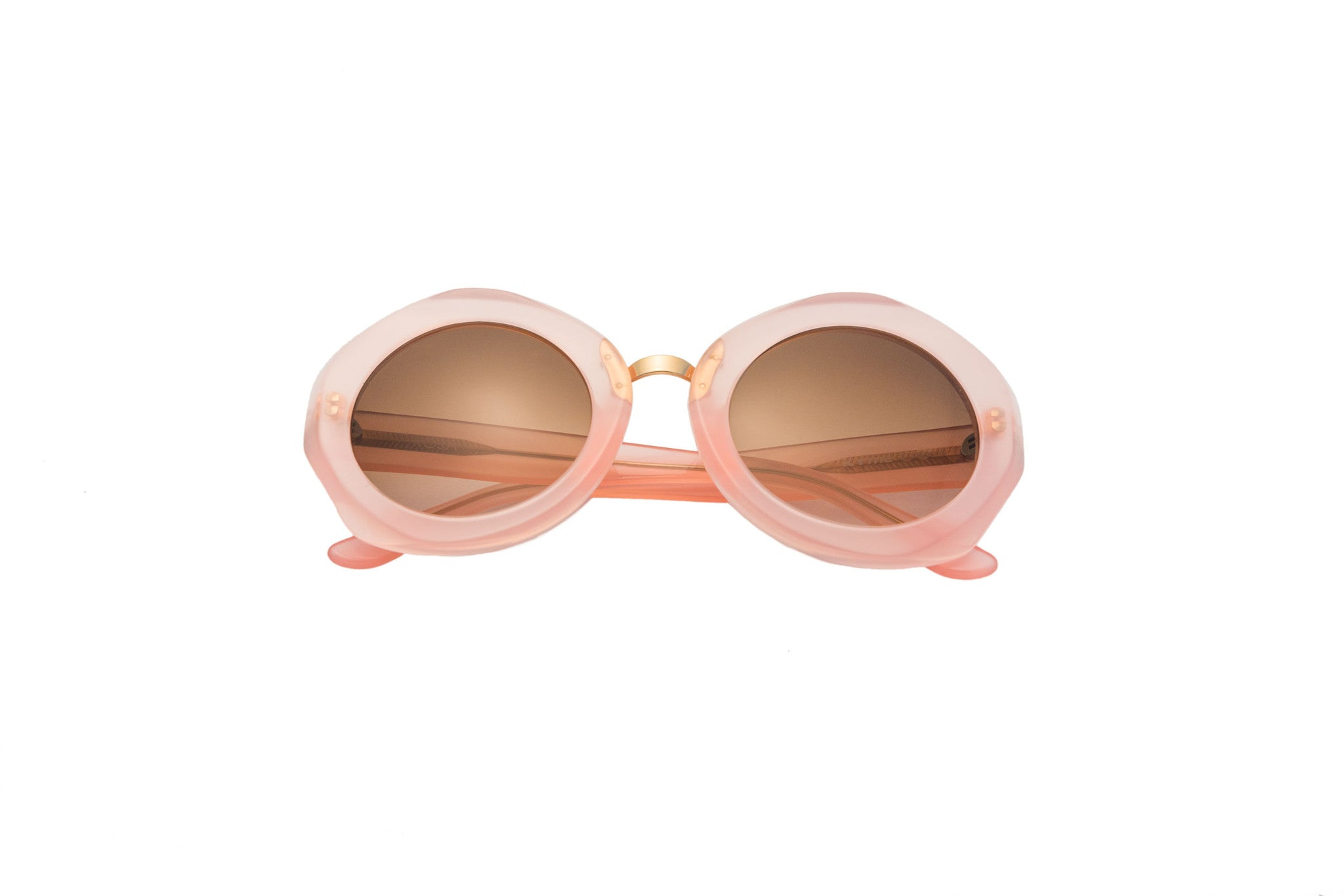 Kyme - Rosa Powder Pink & Rose Gold Sunglasses