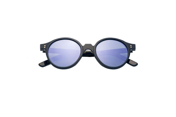 Kyme - Oscar Blue Lilac Mirrored Sunglasses