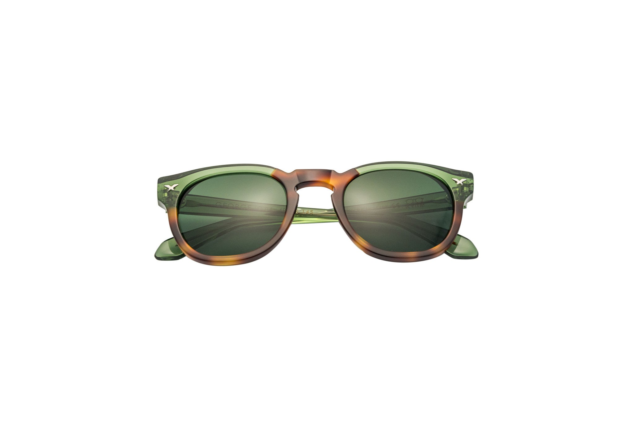 Kyme - George Green & Havana Sunglasses