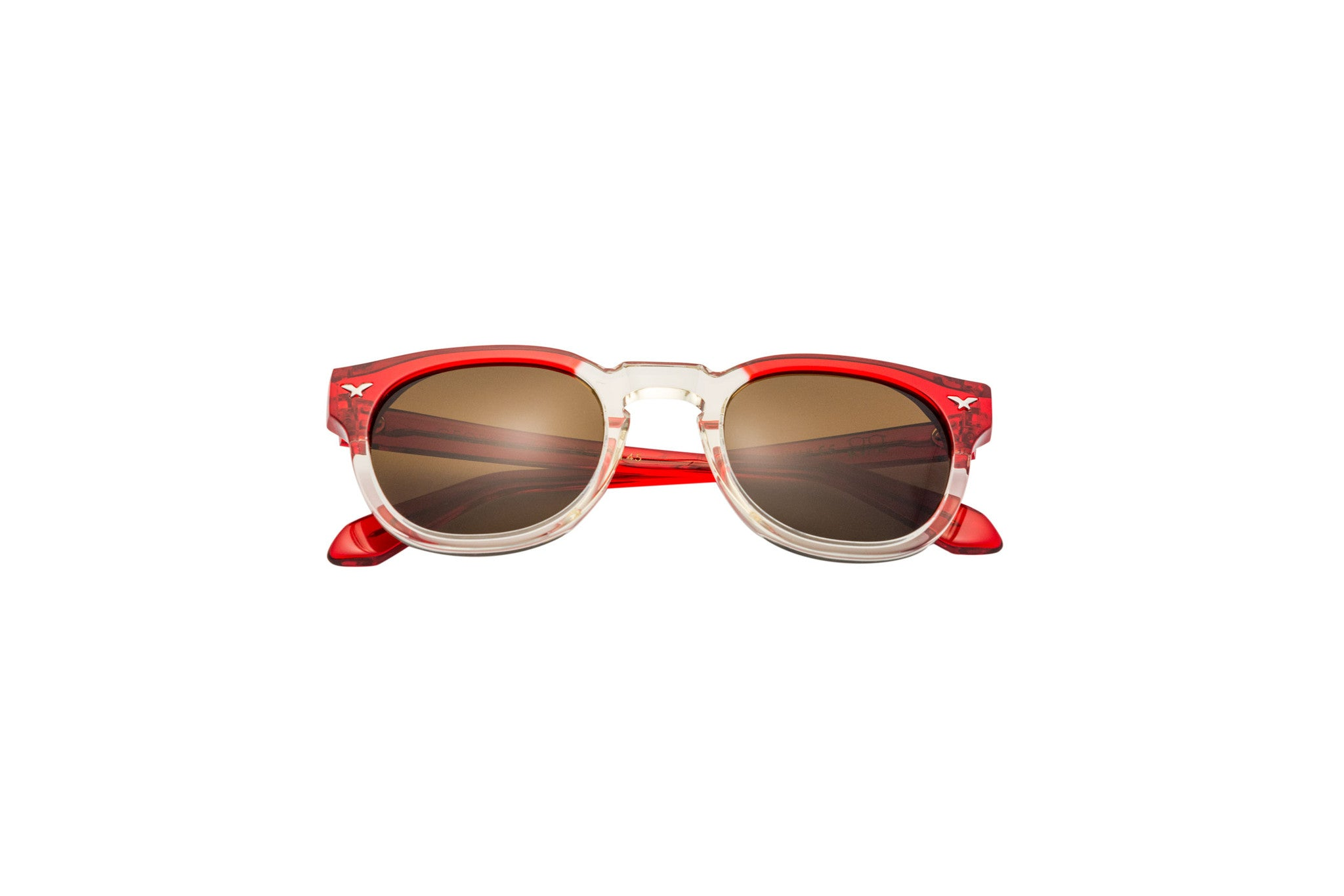 Kyme - George Red & Champagne Sunglasses