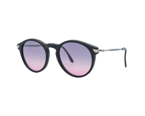 Kyme - Mark Black Satin Sunglasses