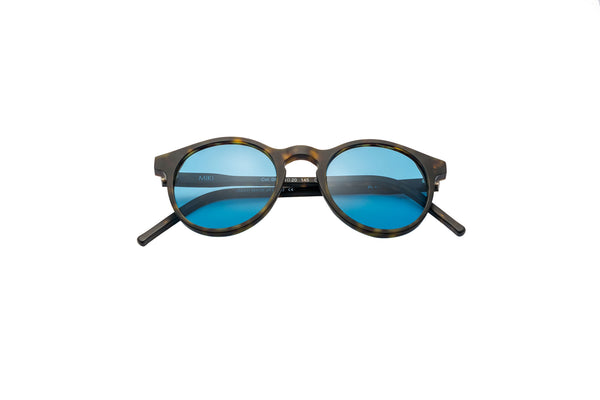 Kyme - Miki Matt Dark & Havana Sunglasses