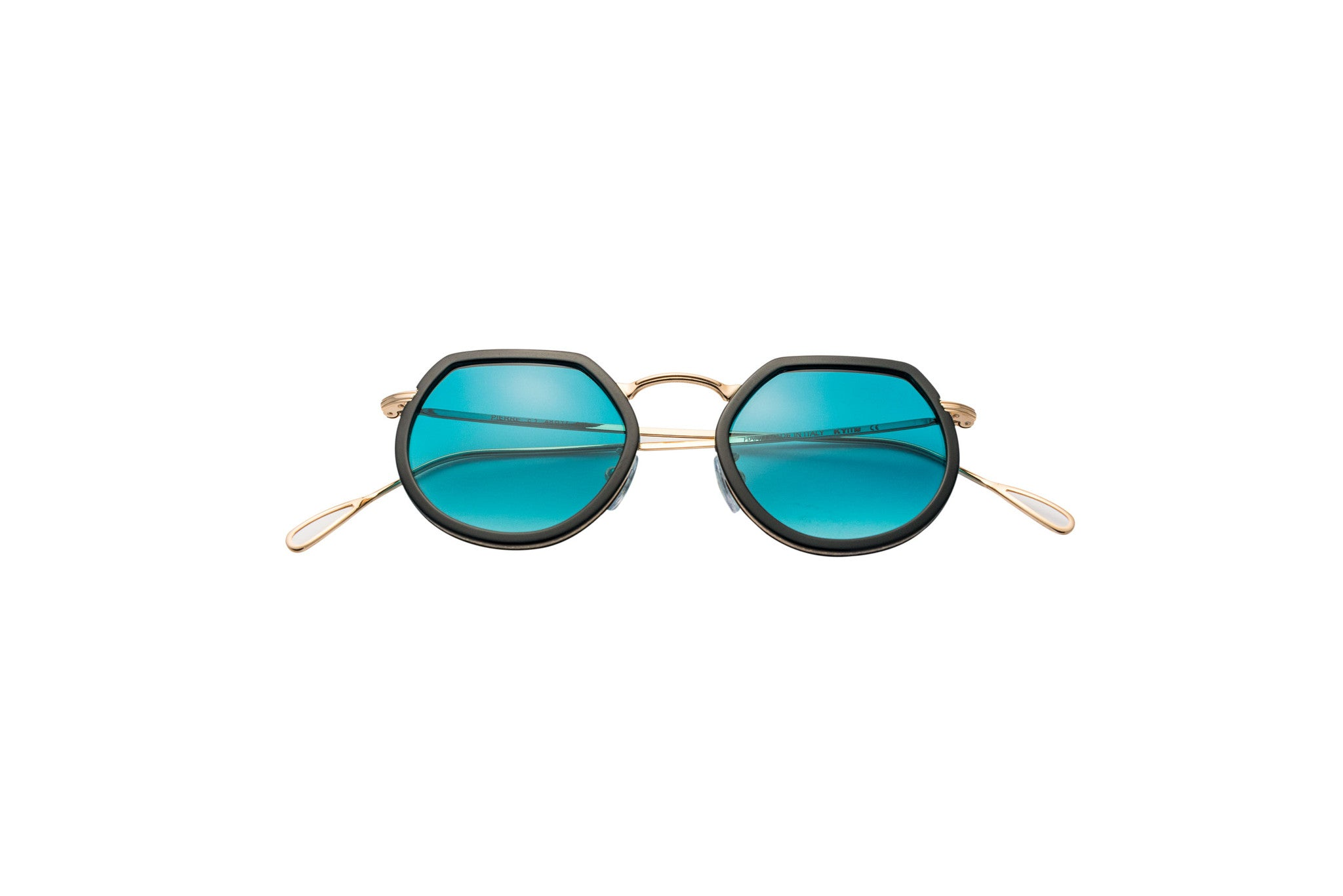 Kyme - Pierre Shiny Gold Sunglasses