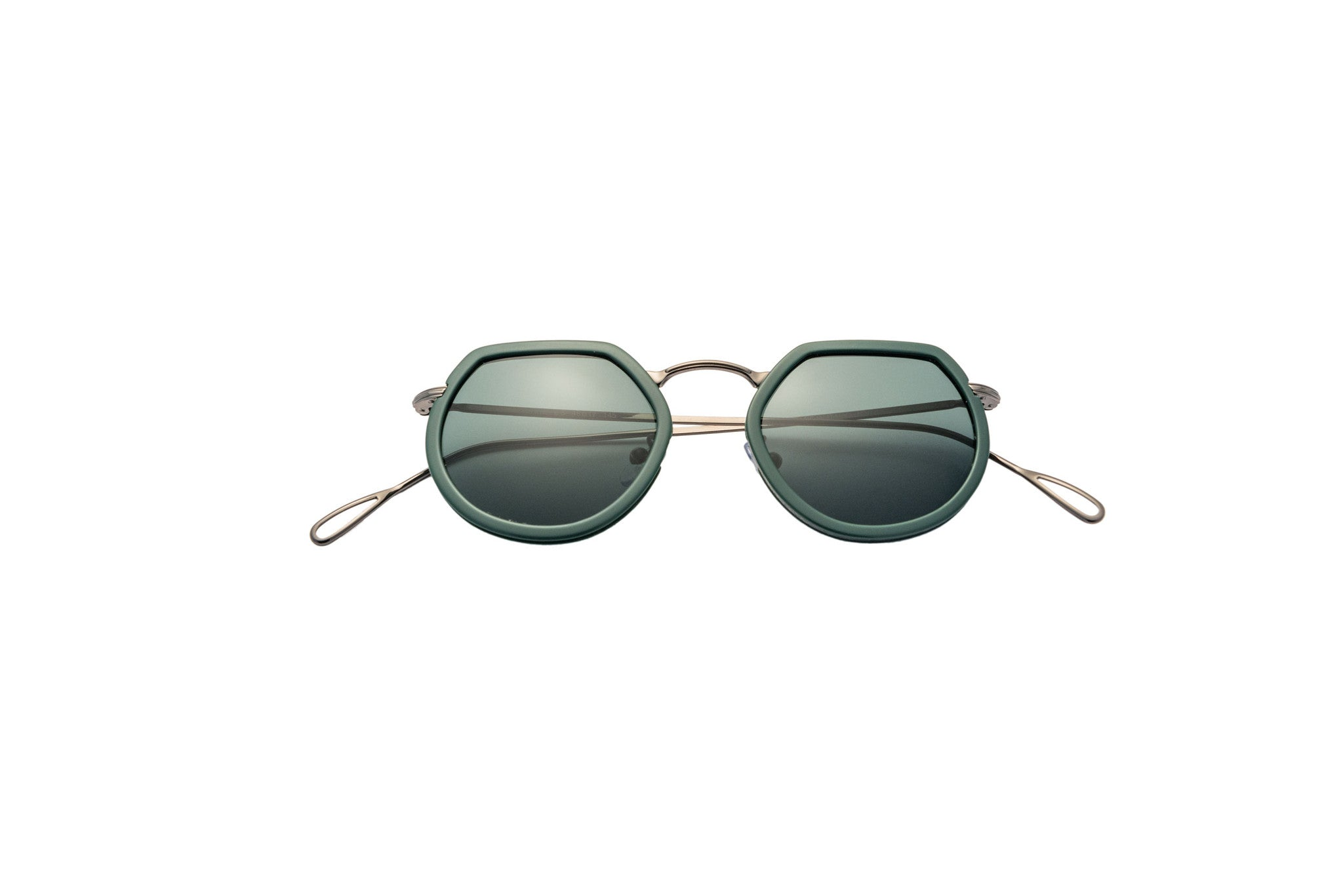 Kyme - Pierre Shiny Gun Metal Sunglasses