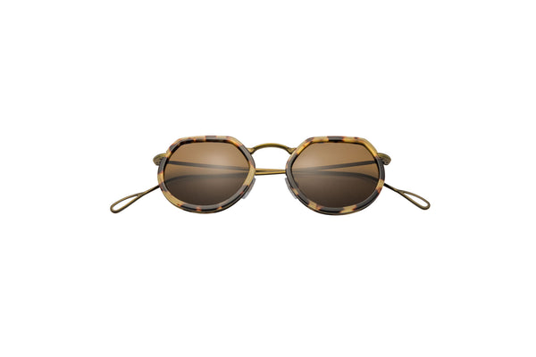 Kyme - Pierre Shiny Antique Gold Sunglasses