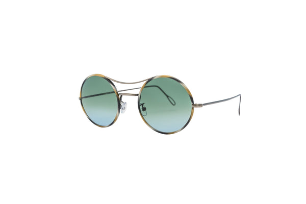 Kyme - Ros Rutenio & Gradient Blue-Green Sunglasses