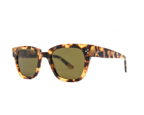 Kyme - Riky Tortoise Brown Sunglasses