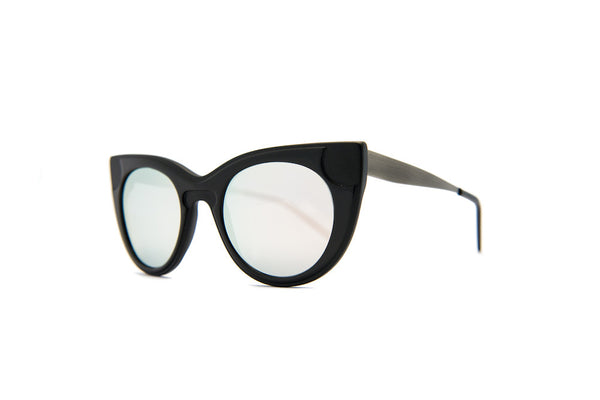 Kyme - Sabry Silver Mirror Sunglasses