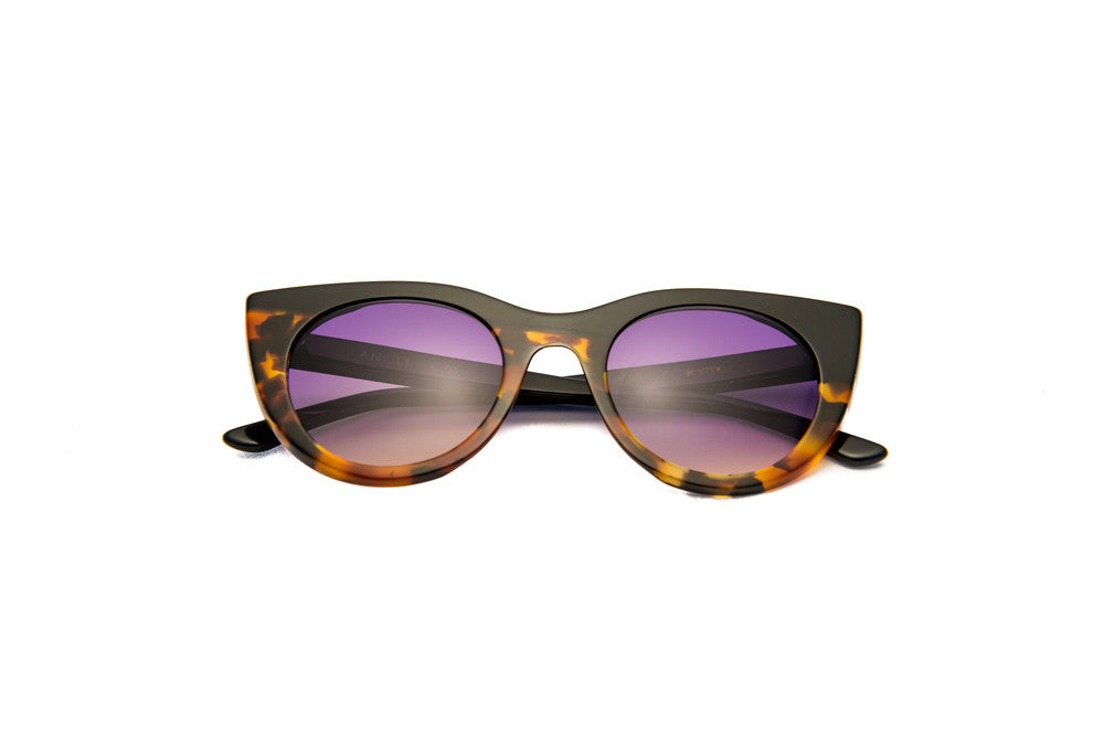Kyme - Angel Black & Tortoise Sunglasses
