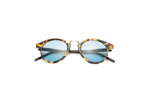 Kyme - Frank Tortoise Black Arm Sunglasses