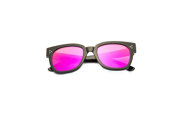 Kyme - Terry Black Pink Sunglasses