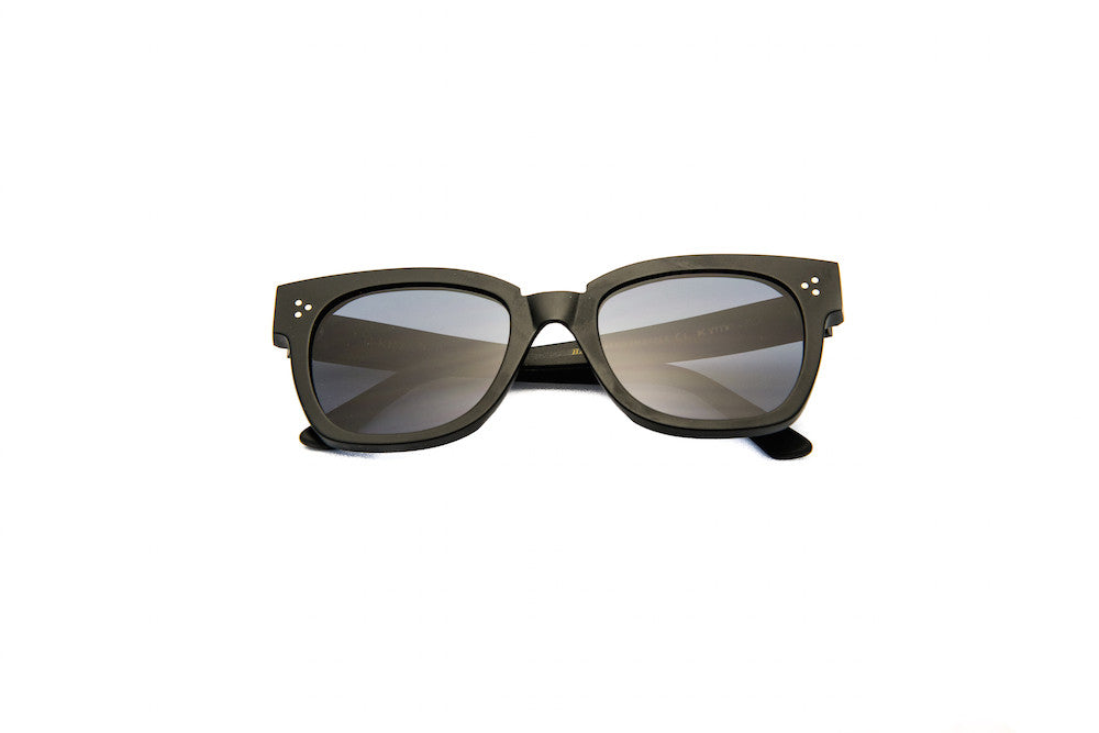 Kyme - Terry Black Sunglasses