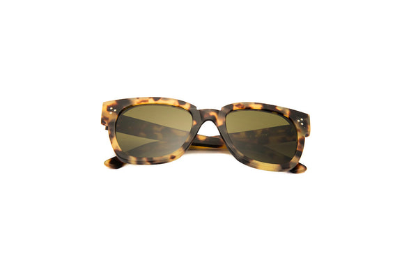 Kyme - Terry Tortoise Brown Sunglasses