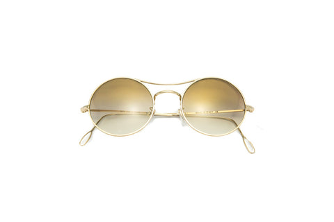 Kyme - Ros Flash Gold Sunglasses
