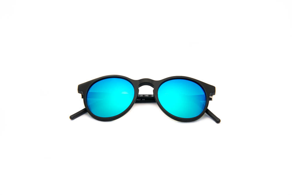 Kyme - Miki Black Sunglasses