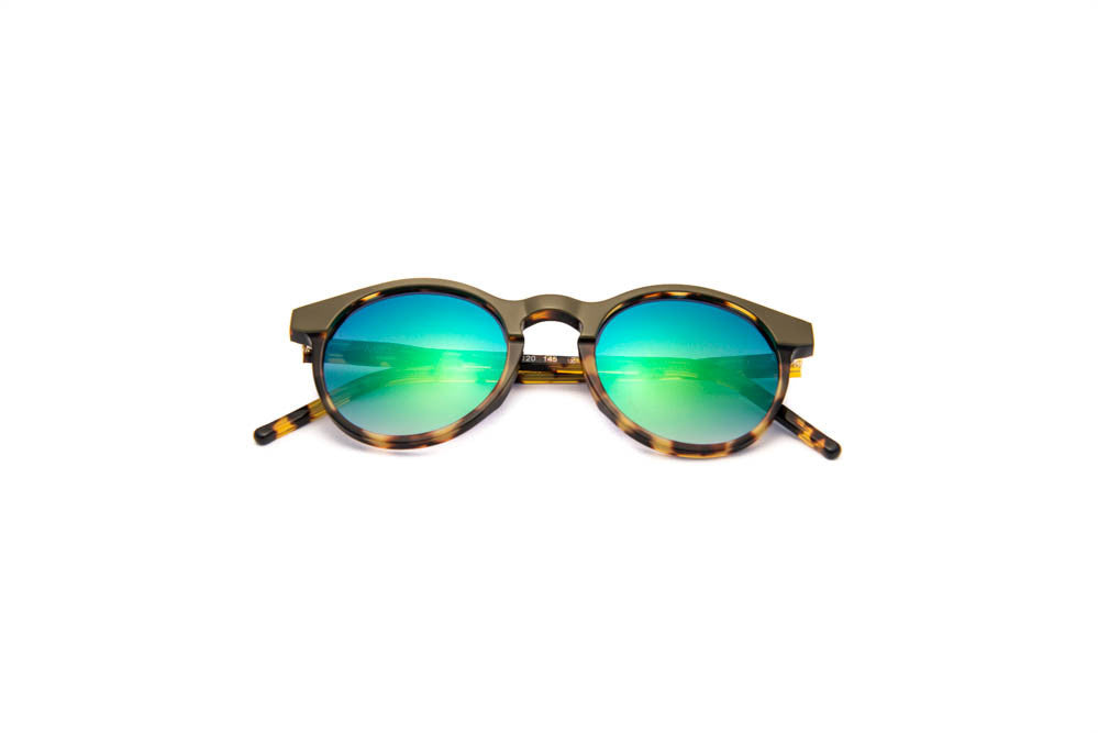 Kyme - Miki Green Sunglasses
