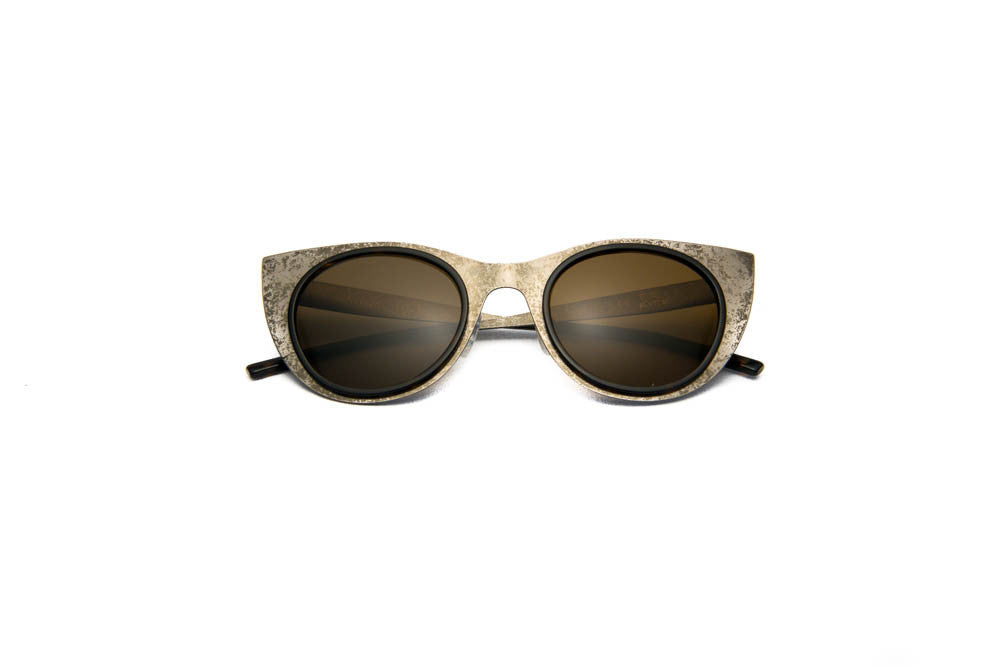 Kyme - Angel Light Antique Silver Sunglasses