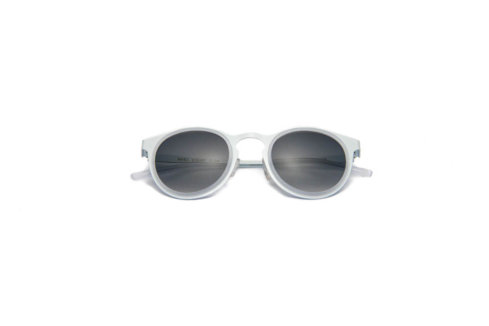 Kyme - Miki Light White Sunglasses