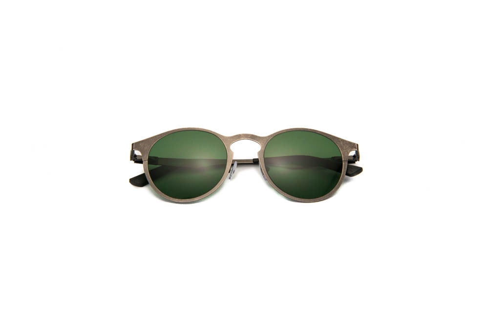 Kyme - Miki Run Antique Silver Sunglasses