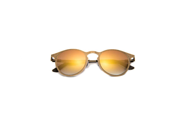 Kyme - Miki Run Brass Sunglasses